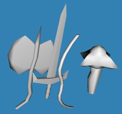 fantasy weapons pack sword 3ds free