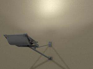 lamps lighting 3d model