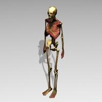 bones 3d 3ds