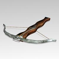 3d model crossbow