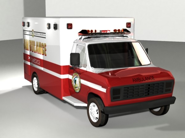 lightwave resolution ambulance