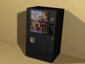 coffee vending machine 3ds
