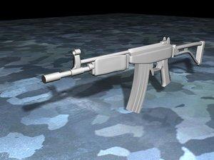 free max model assault rifle