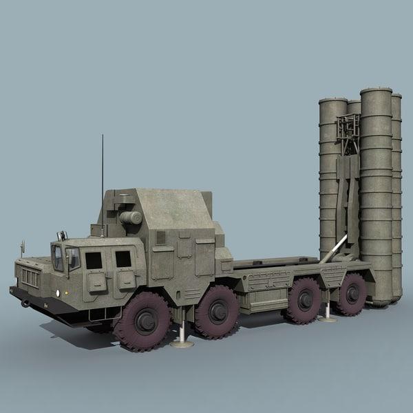 russian grumble sa-20 sam 3d model