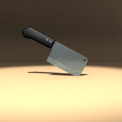 3dsmax meat cleaver