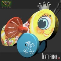3d buzzy bee toy model