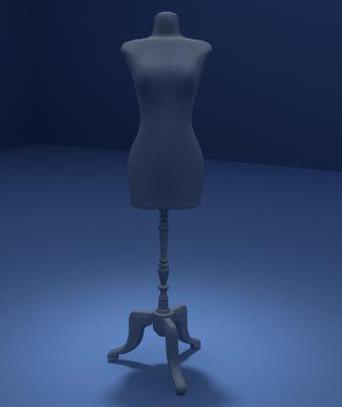 mannequin manequin 3d ma