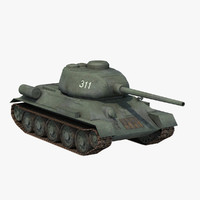 3d model t-34 t 34