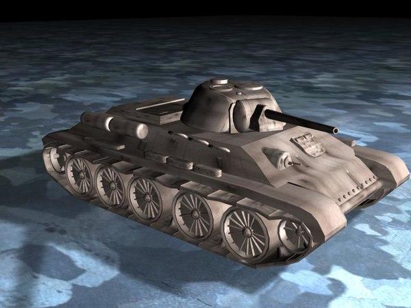 t-34 tank 3ds free
