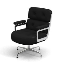 3d eames executive chair model