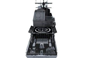 3d uss bunker hill cg-52