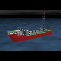 Terra Nova oil vessel