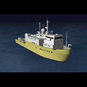 seaway defender deep sea 3d model