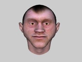 maya thug human head face
