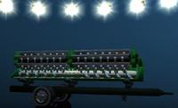 header trailer 3d model