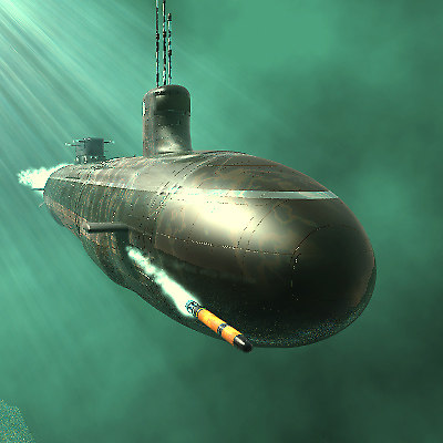 seawolf submarine ssn23 carter 3d model
