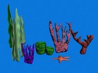 underwater props 3d model