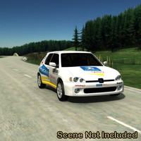 Peugeot 106 Maxi/Rally Car