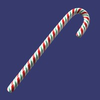 candy cane 3d 3ds