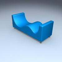 3d sofa cappelini model