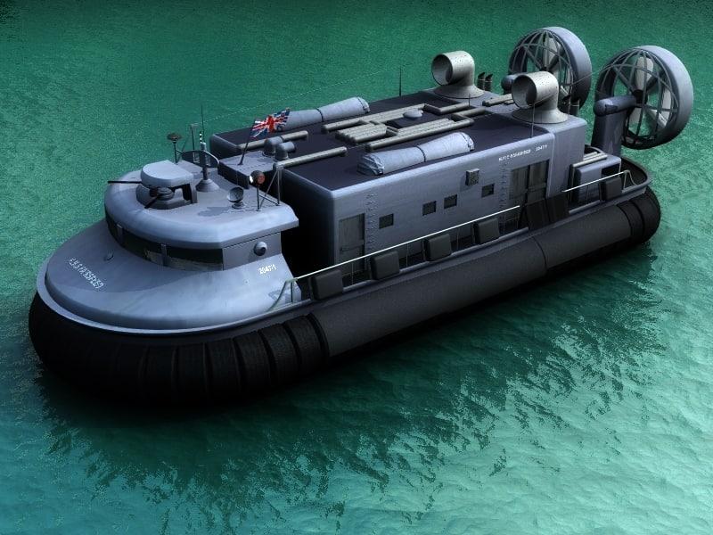 3d army hovercraft