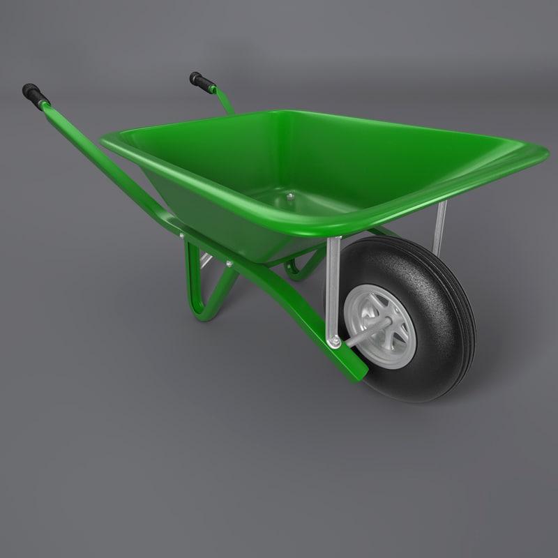 cinema4d wheelbarrow