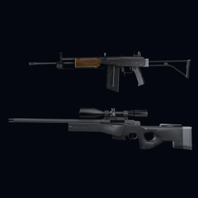 3d 3ds rifles 2
