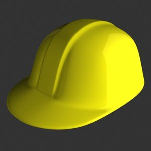 construction hard hat 3d model