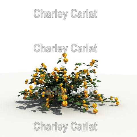 3ds max plant lantana
