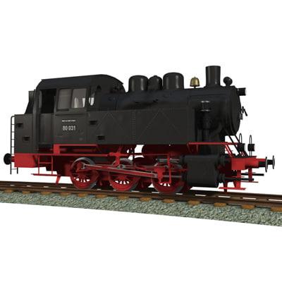3ds max steam engine locomotives