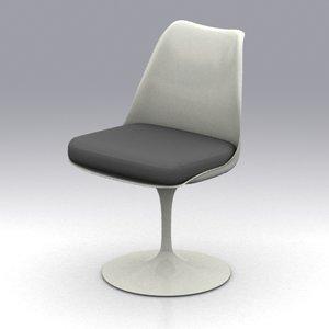 saarinen chair 3d model