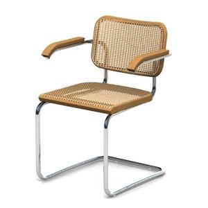 3d model cesca chair