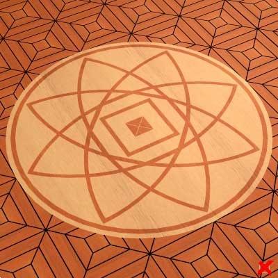 parquet floor 3d max