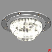 lighting chandelier lamp 3d model