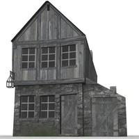 3d taverne2 model
