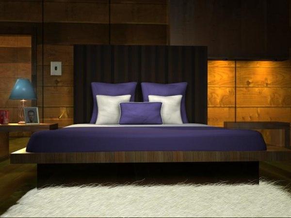 bedroom room 3d ma
