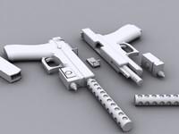 glock 18 3d 3ds