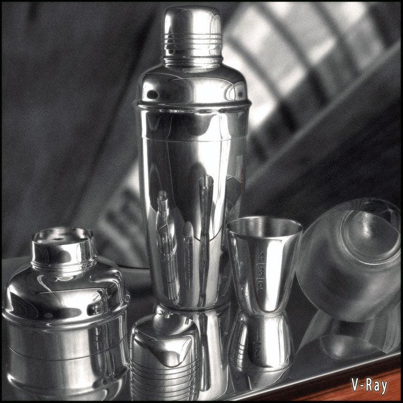 coctail shaker jigger materials max