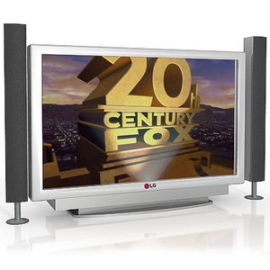 plasma tv 3d model