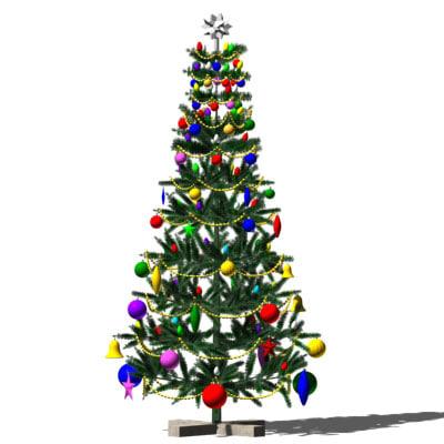 3dsmax christmas tree