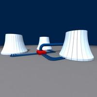 maya cooling chimneys