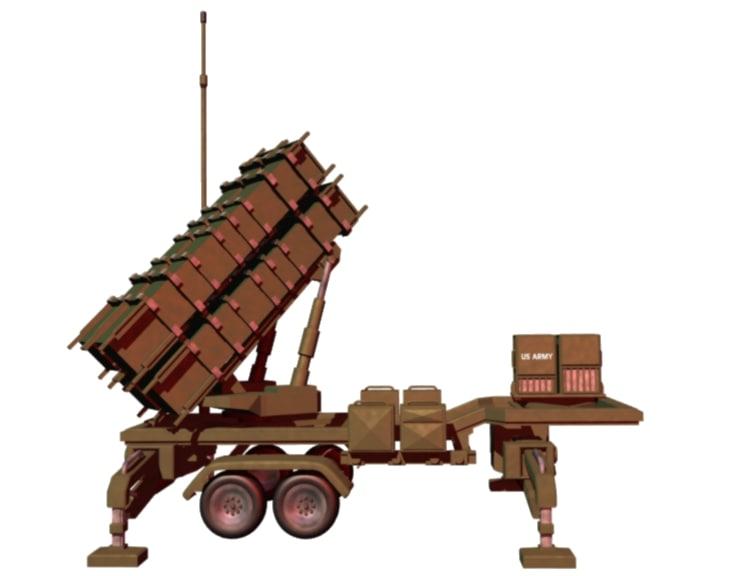 patriot missile launching lwo