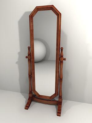 3ds max cheval mirror
