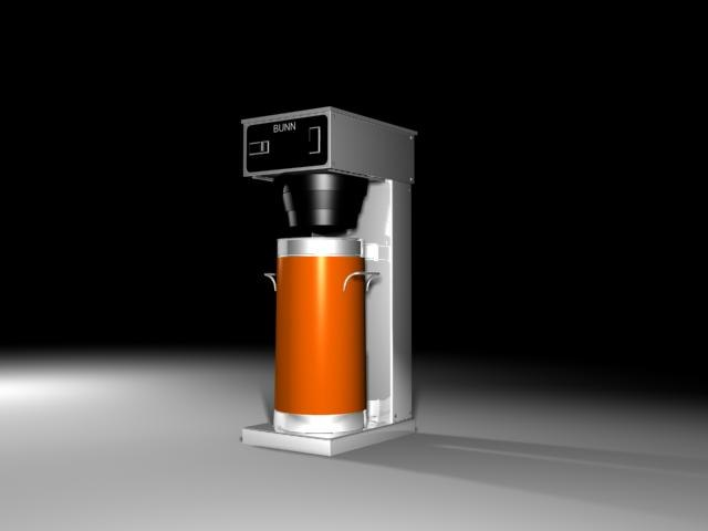 3d tea brewer model