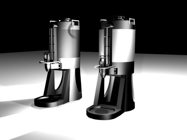 coffee thermos 3d 3ds