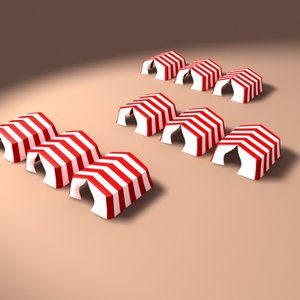3ds max tents circus