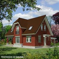 house ove-3 3d model