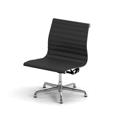 lwo eames aluminum chair