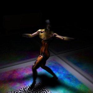 body dancer 3d model