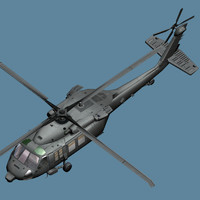 engines blackhawk 3d model